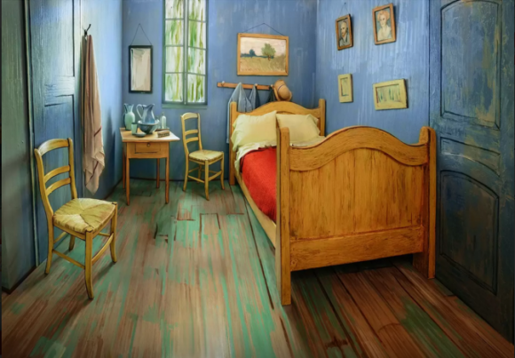 van Gogh slaapkamer 2