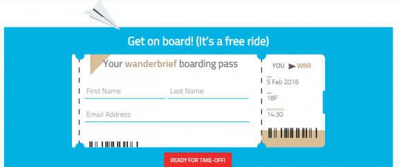 wanderbrief ticket TravelNext
