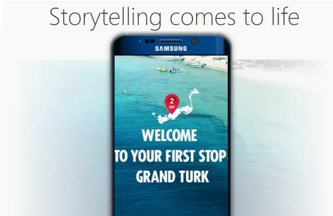 Facebook canvas storytelling