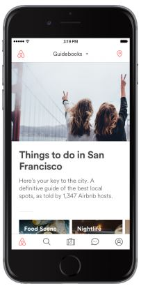 Blog airbnb guidebooks