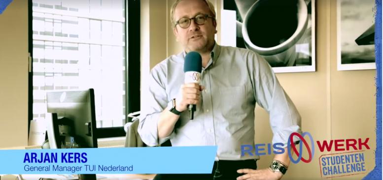 In gesprek met Arjan Kers (GM TUI) over de samenwerking met de Reiswerk Studenten Challenge