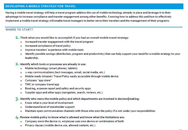 stappenplan mobiele strategie
