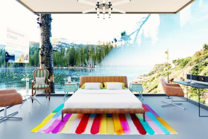 Hotelkamer van de toekomst volgens AccorHotels: een digitale timeline van interieur en techniek