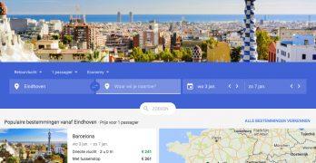 Google: geen stress meer om beste prijs via tips van Flights, Trips en hotel