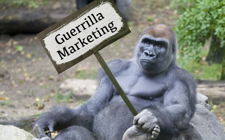 Guerrilla vs Gorilla marketing