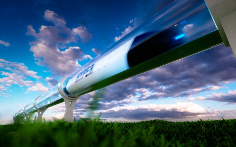 Met de hyperloop: Amsterdam – Frankfurt in 50 minuten